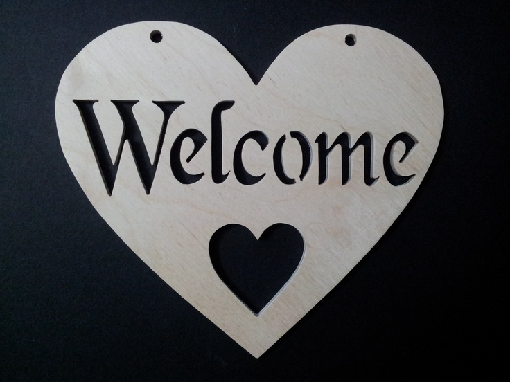 Welcome Heart available at http://www.rhondda-woodcraft.co.uk/shop/hearts/welcome-wooden-fretwork-heart/