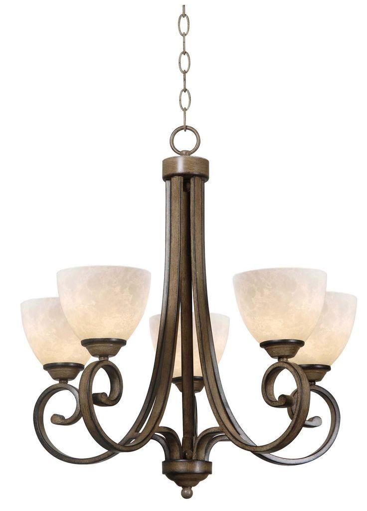Terrain 5 Light Chandelier | Kenroy Home | Home Gallery Stores