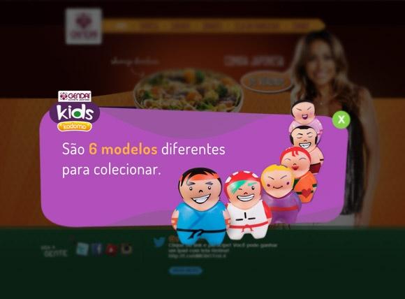 Gendai - Desenvolvimento de Arte para Brindes GendaiKids em parceria com a Agência Perfil Brasil