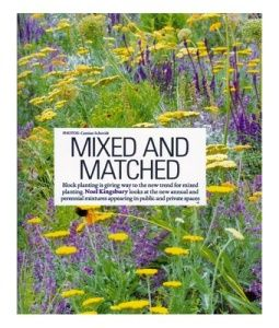 Mixed planting gdj sept 12 noel kingsbury landscape and for Kingsbury garden designs