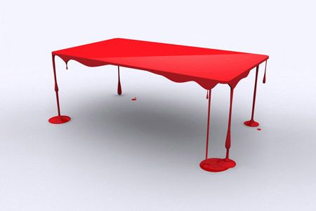 coffee table ahh so cool!: Tables Inspiration, Tables Design, Paintings Tables, Stylish Tables, Coff Tables, Pérès Design, Dining Rooms Tables, Modern Tables, Pantone Tables