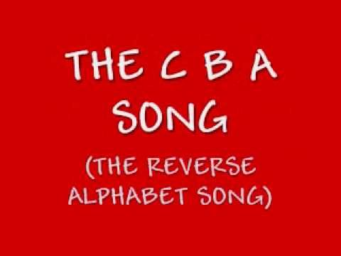 Sometimes students need a brain break.  Teachers, too!  Here's the CBA Song!  The alphabet song sung backwards.  It gets faster and faster... Fun =)