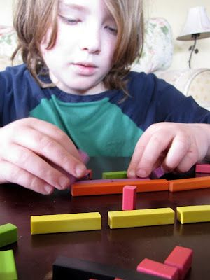 Interesting post on living, hands-on (unschooling) math