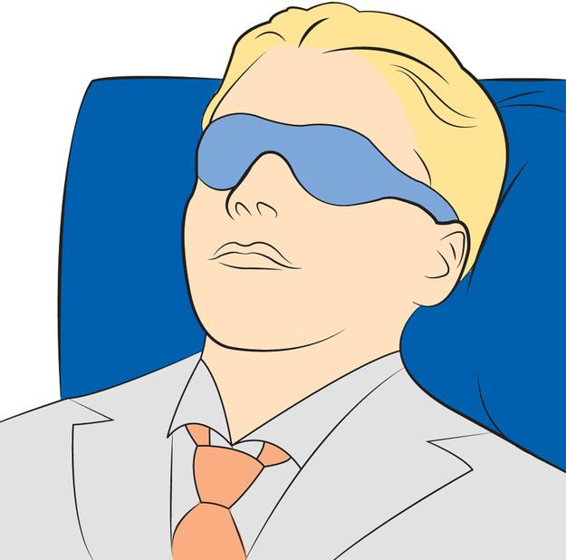 Red-Eye Flight Cheat Sheet    1.Wear A Sleep Mask (Even If You Think They Make You Look Like A Huge Nerd)...
