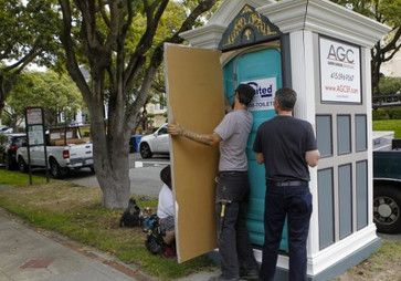 Craftsmanship- Custom Porta-Potty Cover traditional-outdoor-products
