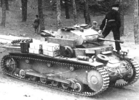 German Panzer II Ausf b light tank, date unknown
