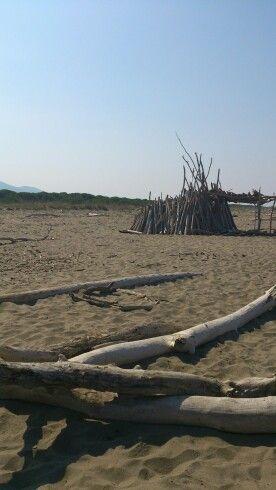 La meravigliosa spiaggia di Principina, #grosseto #tuscany #maremma