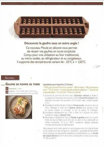 17 best images about tupperware gaufres on pinterest - Plat micro onde tupperware ...