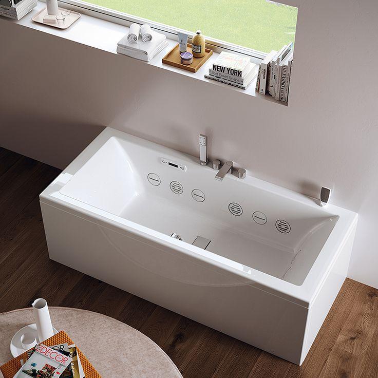 Køb et badekar der giver spabehandlinger. Få spa-oplevelsen ind i dit eget hjem med Design4home's nye badekar. Her kan du vælge mellem 4 spabehandlinger.