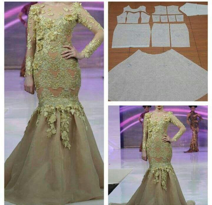 Baju kurung pattern