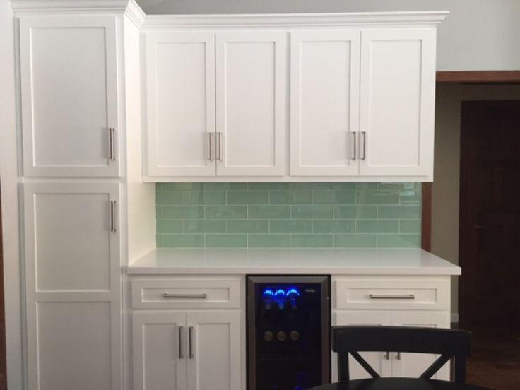 84 best cream ivory glass tile images on pinterest | glass tiles