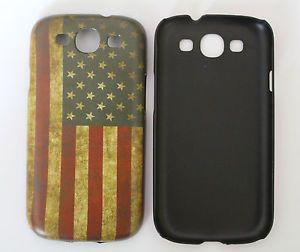 Samsung Galaxy S3 Handy Hülle Hardcase USA Flagge Türkei DE Fahne Retro Cover