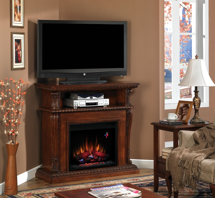 Fireplace Design corner entertainment center with fireplace : 24 best ClassicFlame Electric Fireplaces images on Pinterest