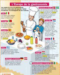 Fiche exposés : L'Europe de la gastronomie