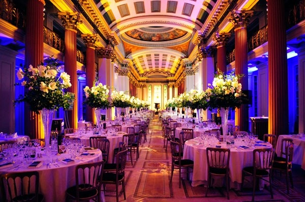 The Upper Library - A Beautiful Wedding or Dining Hall Venue - Edinburgh, Scotland (UK)