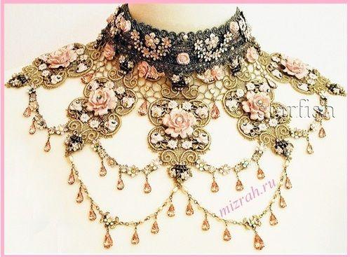 Crotchet Necklace Idea