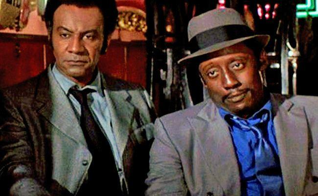 Película:Cotton Comes to Harlem 1970  Trata el colorde manera muy viva, y saturada