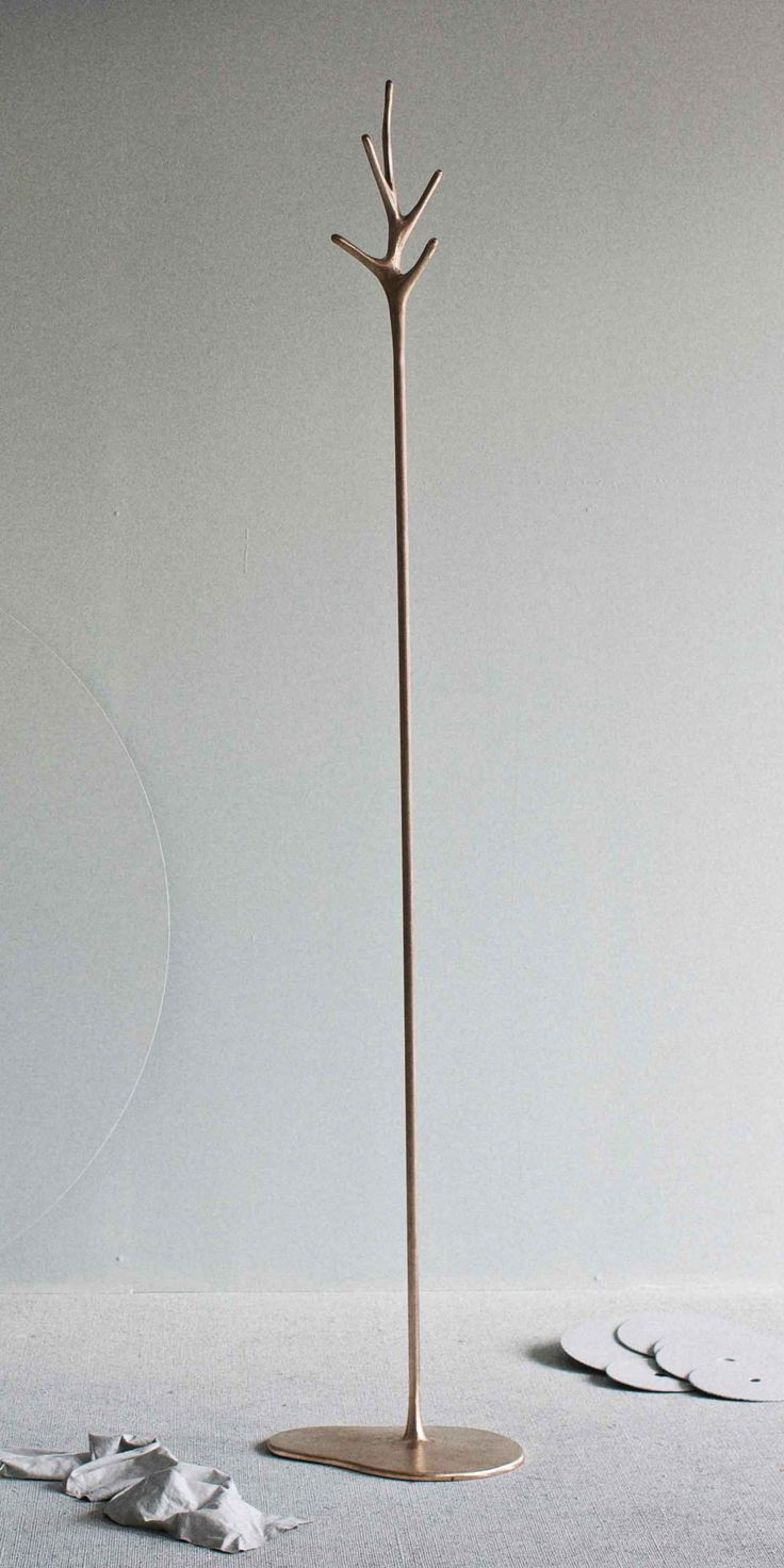 LOVELOCK Solid Bronze Coat Stand by Barbera