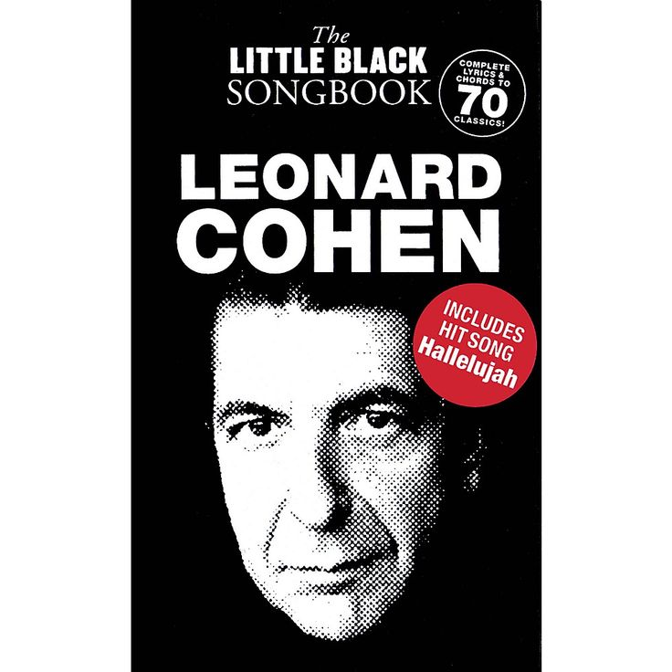 Music Sales Leonard Cohen - The Little Black Songbook The Little Black Songbook Series Softcover by Leonard Cohen