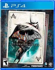 Boxshot: Batman: Return to Arkham by Warner Home Video Games