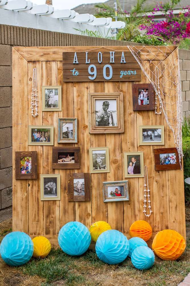 Vintage Luau / Vintage Hawaiian Birthday Party Ideas | Photo 11 of 75 | Catch My Party