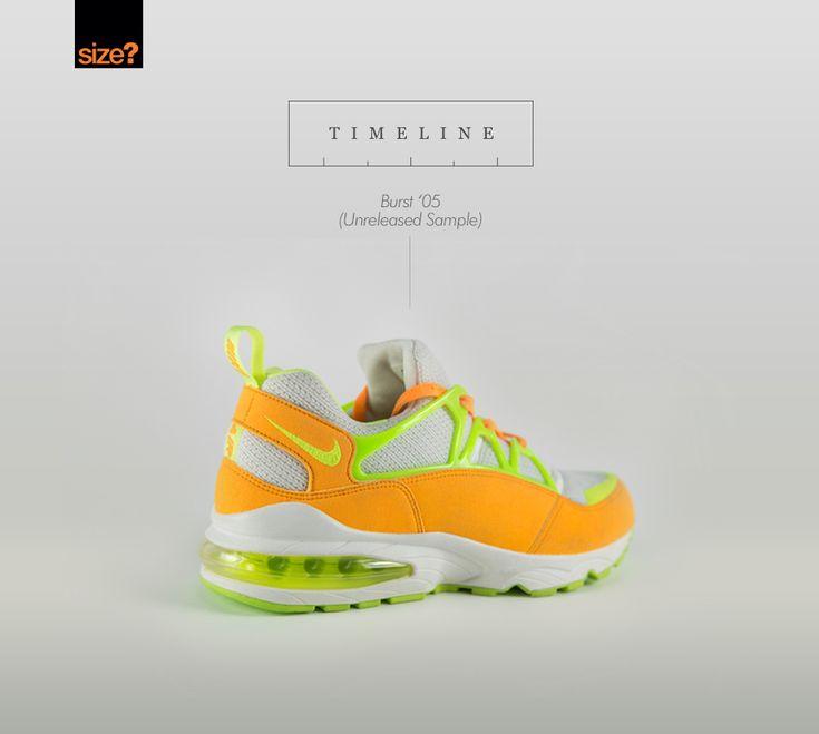 c66a349a176e Nike Air Huarache Light  Atomic Mango  Timeline  Burst  05 (Unreleased  Sample).