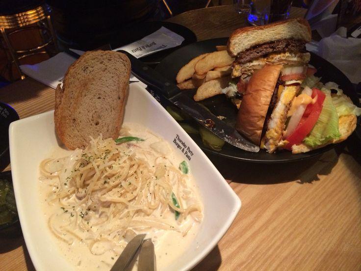 Ham Burger and Spaghetti~