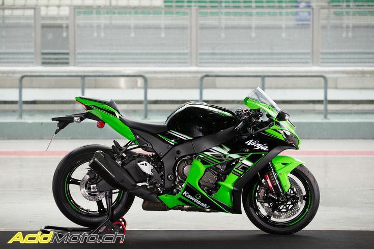 Essai Kawasaki Ninja ZX-10R 2016 - La sportive de série issue du WSBK: Page 2 sur 2 » AcidMoto.ch, le site suisse de l'information moto