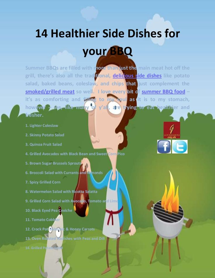 14-healthier-sides-for-your-bbq by Angel Vicky via Slideshare
