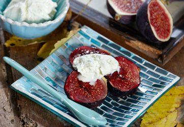 Prøv en lækker dessert med figner og masser af smag