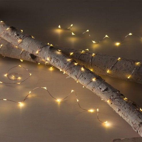 LED String Lights in Copper or Silver Finishes | VivaTerra