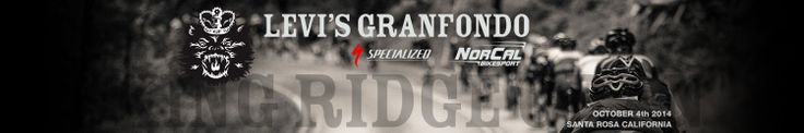 Levi's Gran Fondo - Charity Radlfoan mit dem unhold in california