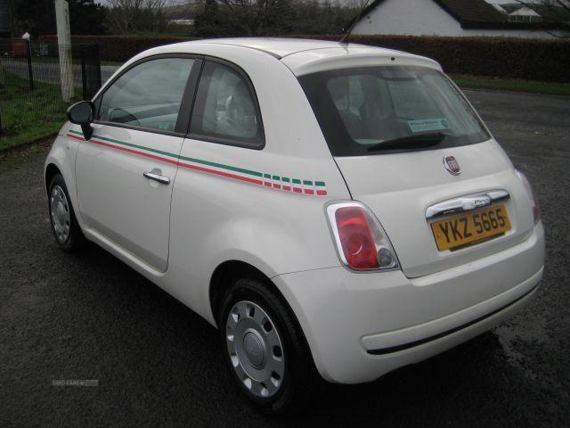 Fiat 500 1.2 Pop 3-dr*ONLY 52K, MOT DEC 16, 1 LADY OWNER* in Antrim