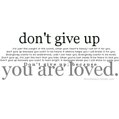 Favorite Josh Groban song - You Are Loved.