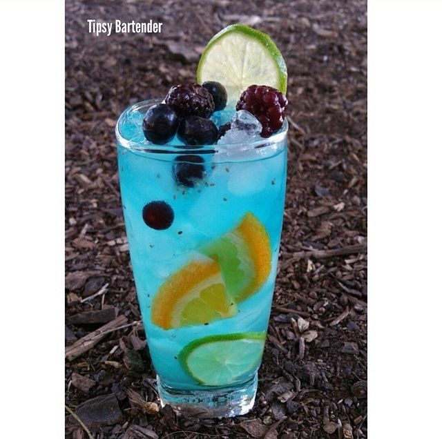 1000 images about drinks on pinterest coconut rum for Fish bowl drink tipsy bartender