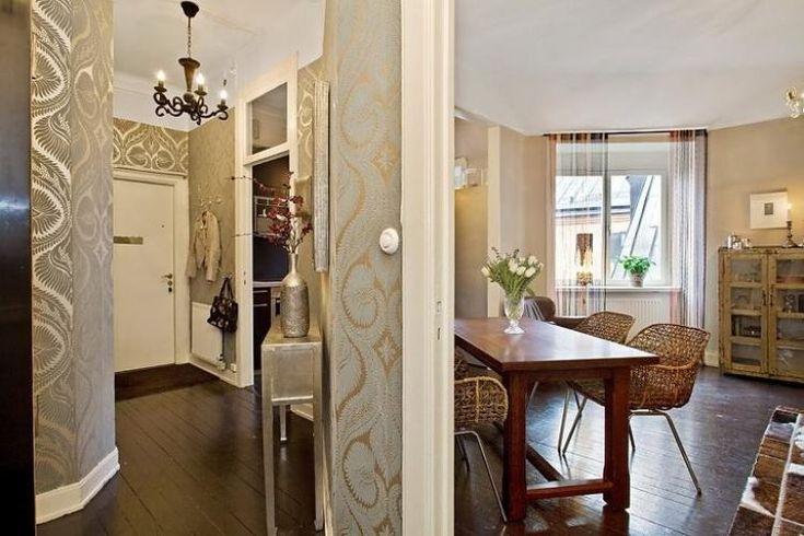 Красивая ретро-квартира 78 м2 в Стокгольме - Дизайн интерьеров | Идеи вашего…
