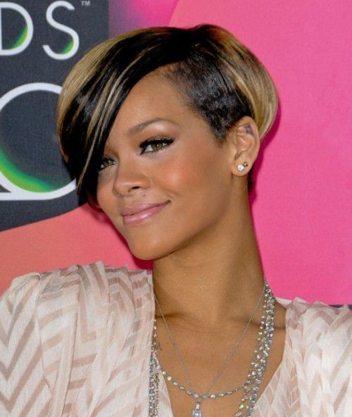 Short Feathered Bob Hairstyles 2017 for Black women
