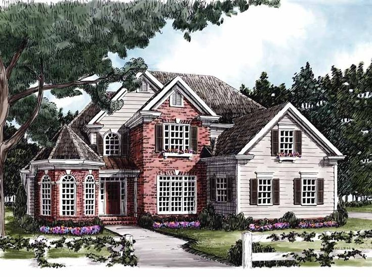 17 best Colonial House Plans images on Pinterest Colonial house