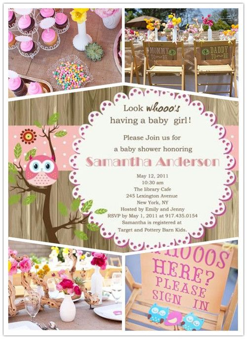 Owl baby shower baby shower ideas pinterest babies for Baby shower decoration ideas cheap