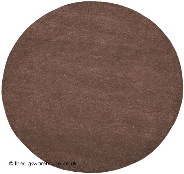 Comfort Brown Circle Rug Home Rugs Round