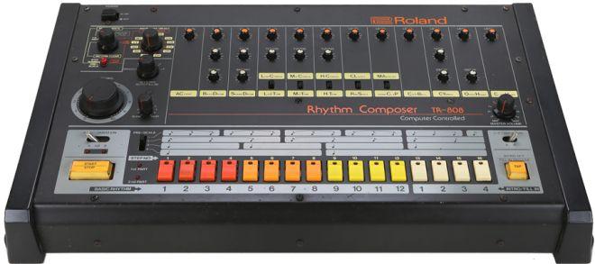 Roland tr-808, by Tadao Kikumoto