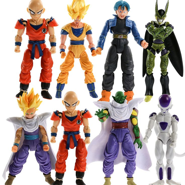 Dragon Ball Toys : Lot pcs dragon ball z action figures dragonball goku