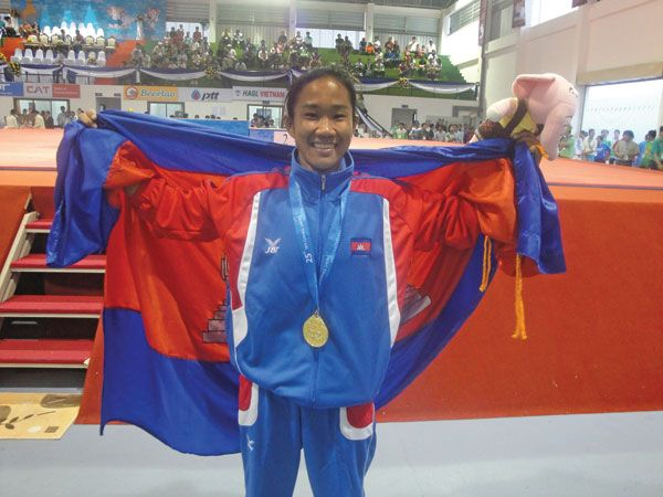 Sotheara Chov, the first Cambodian female wrestler to take gold medal at the 2009 SEA games in Laos, will be representing Cambodia at the 2016 Olympic Games in Rio. A high school sports teacher and a passionate advocate for gender equality, educating young girls to aspire to play sports, will compete in Women's freestyle -48kg on August 17.