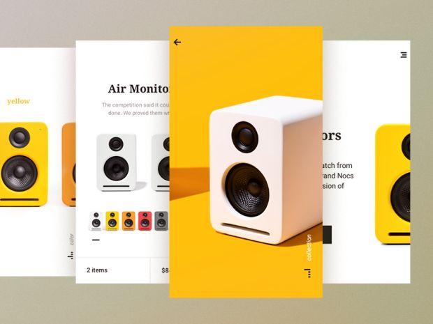 Inspirational UI Design 25 - UltraLinx