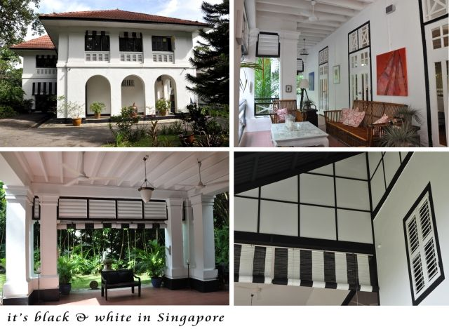 Black & White Houses in Singapore
