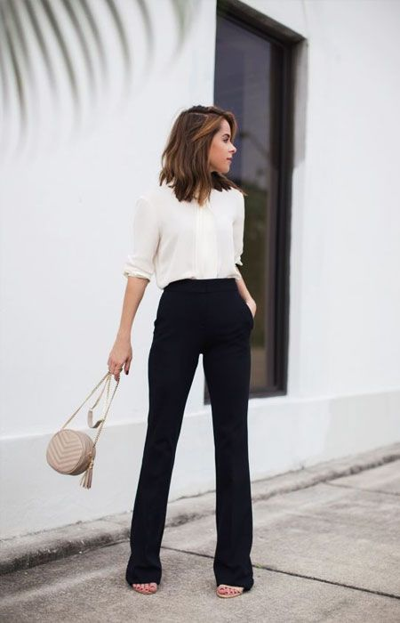 2b8b00660a1 13 Spring Outfits for Work - We Love These Perfectly Casual Business ...
