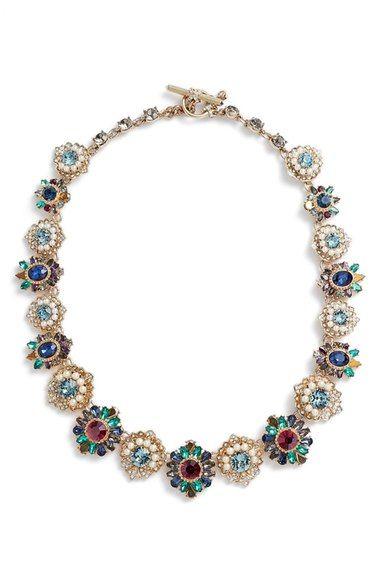 MARCHESA Collar Necklace. #marchesa #