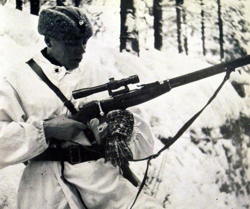 Finnish officer during Winter war