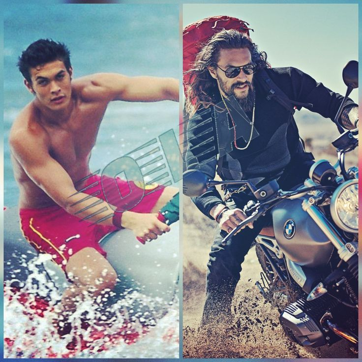 Jason Momoa Lifeguard: This Sexy Beast #jasonmomoa Kawasaki Bmw Motorcycle