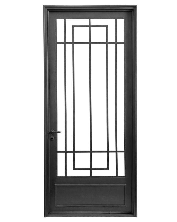 Best 25 dise os de puertas metalicas ideas on pinterest for Puertas de diseno